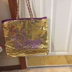 Sequin tote by Betseyville